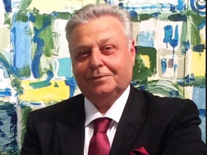 Выдающийся азербайджанский художник Ариф Азиз празднует день рождения - ФОТО