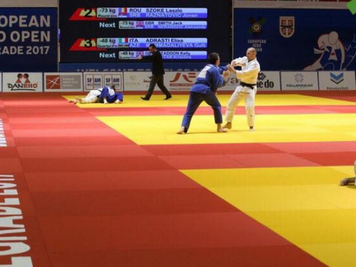 Азербайджанские дзюдоисты завоевали 3 медали в Сербии