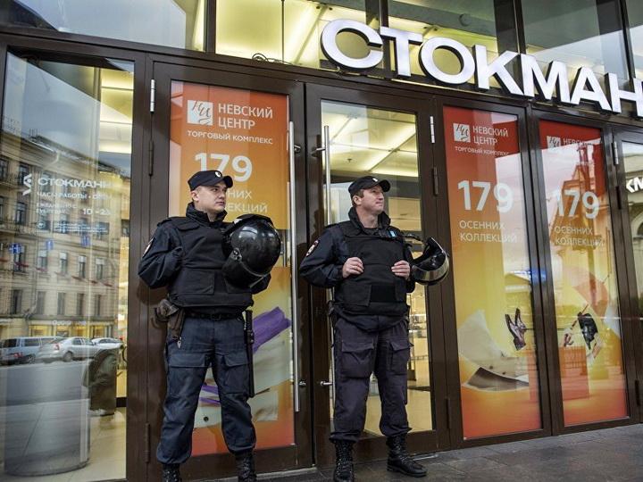 Эвакуация людей началась в шести московских торговых центрах