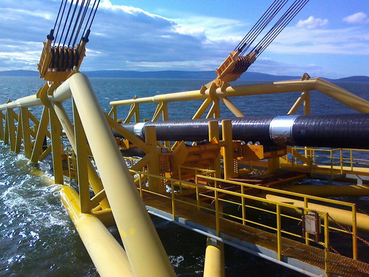 Началось строительство морской части газопровода TANAP