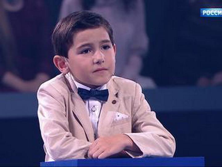 6-летний Руслан Сафаров из Гусара поразил зрителей канала «Россия 1» математическими способностями – ВИДЕО