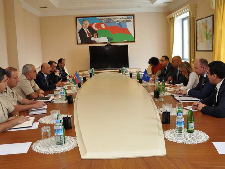 Министерство по чрезвычайным ситуациям Азербайджана развивает сотрудничество с соответствующими структурами НАТО