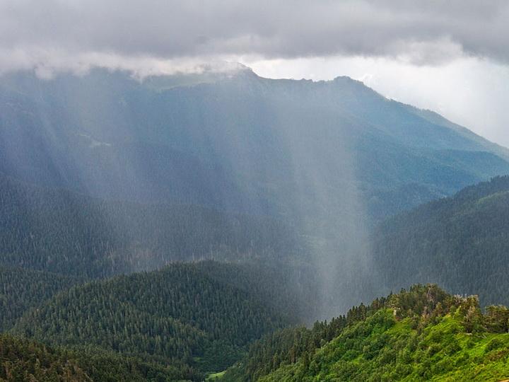 На Большом Кавказе выпало до 80 мм осадков