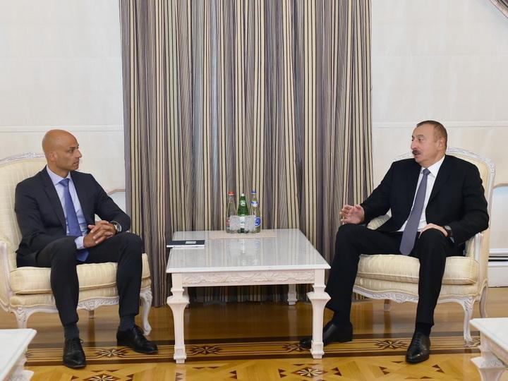 Ильхам Алиев принял специального представителя генерального секретаря НАТО по Кавказу и Центральной Азии