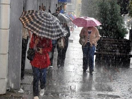 Bakıda və rayonlarda yağış yağacaq - Sabahın hava proqnozu