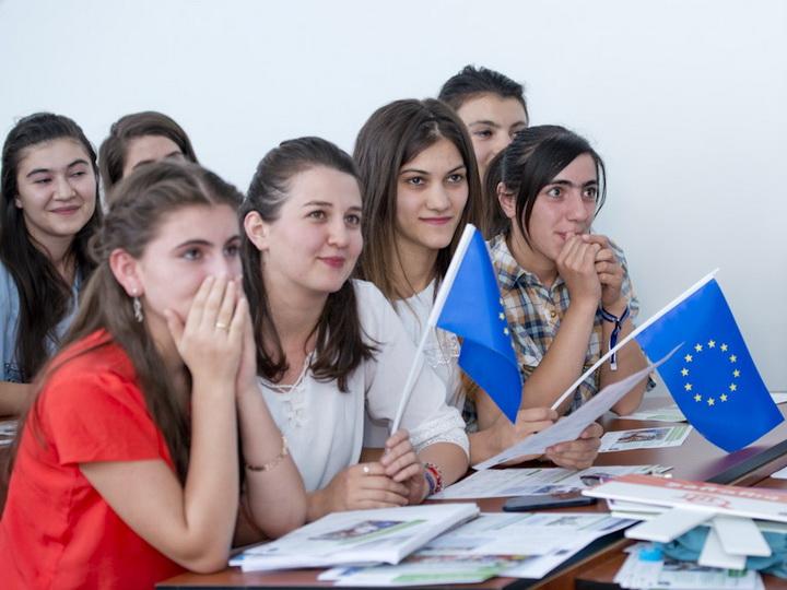 Сильнее вместе:  молодежь сближает Азербайджан и Евросоюз во имя будущего – ФОТО
