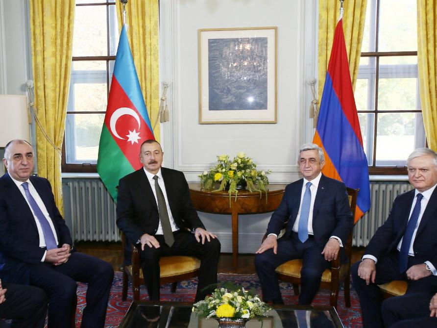 В Женеве состоялась встреча президентов Азербайджана и Армении - ФОТО
