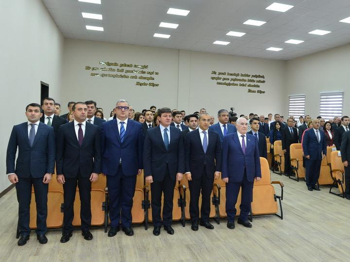 Состоялось открытие нового здания Габалинского государственного центра профессионального образования – ФОТО