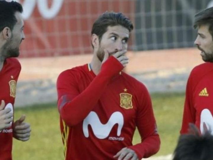 Рамос, Пике и Бускетс могут уйти из сборной Испании