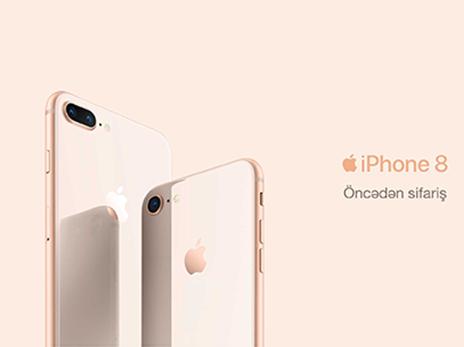 Получи свой IPhone 8 от Azercell с Hədsiz Интернет и без предоплаты!