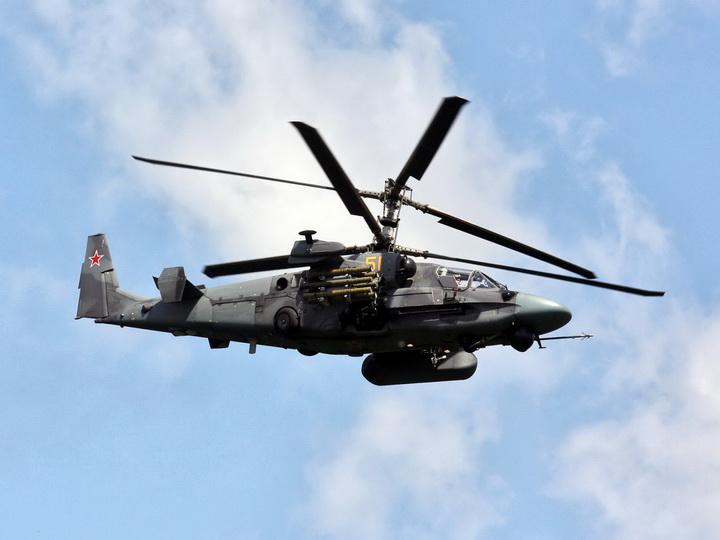 Rusiya helikopteri Norveç sahilləri yaxınlığında dənizə düşüb