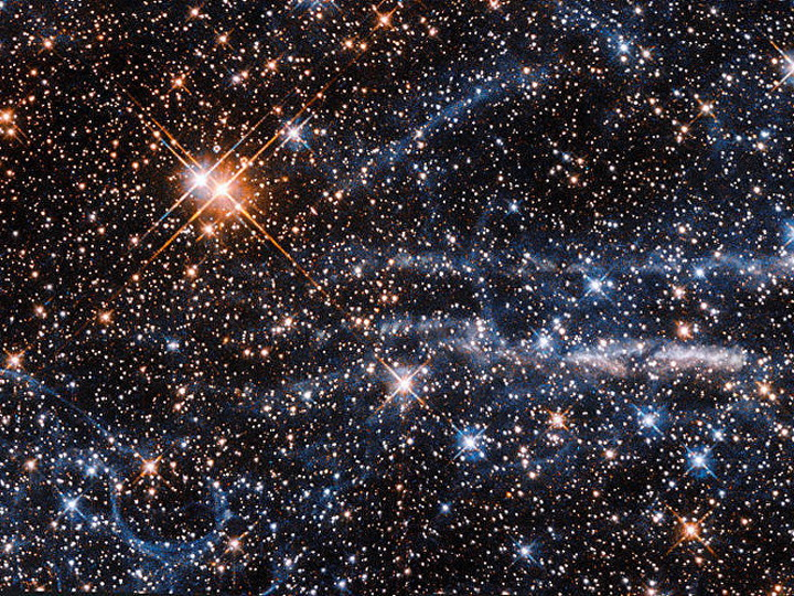 NASA опубликовало запись страшных звуков, издающих космосом