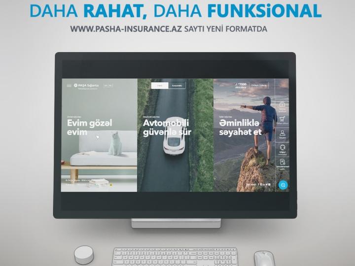 Компания PAŞA Sığorta представила клиентам новый веб-сайт