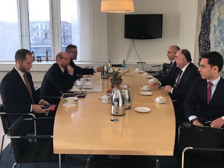 Обсуждены вопросы сотрудничества всфере безопасности между Азербайджаном иАфриканским союзом