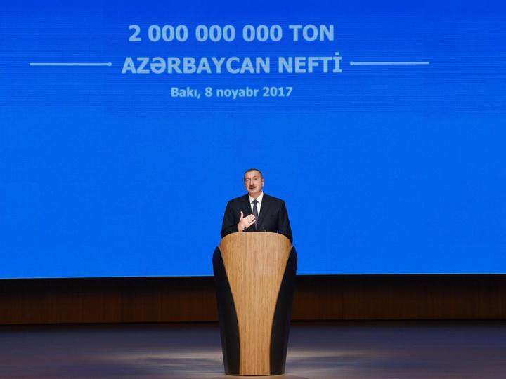 Ильхам Алиев: Нефтегазовый сектор будет и впредь занимать важное место в развитии Азербайджана