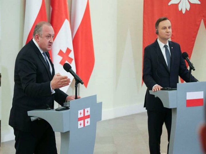 Giorgi Marqvelaşvili Azərbaycan prezidentini Gürcüstana dəvət edib