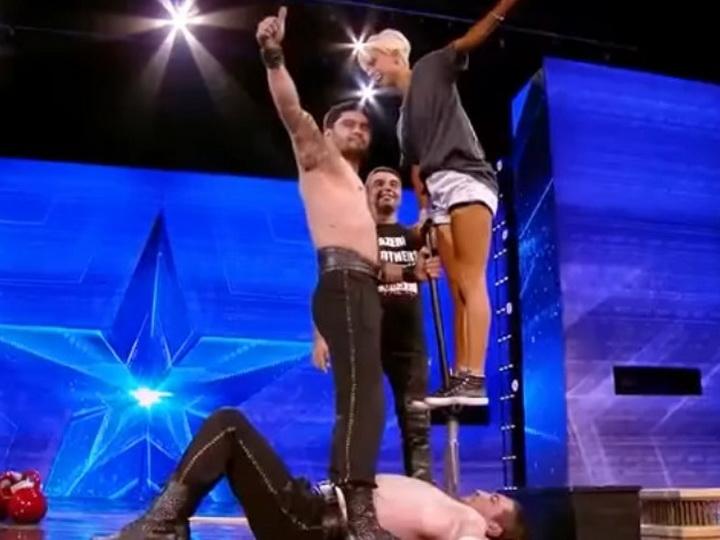 Шокирующее выступление азербайджанских пехлеванов на шоу «Georgia Got Talent» - ВИДЕО