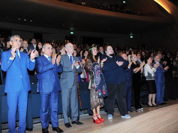 В Центре Гейдара Алиева состоялся юбилейный вечер по случаю 100-летия Тофика Кулиева - ФОТО