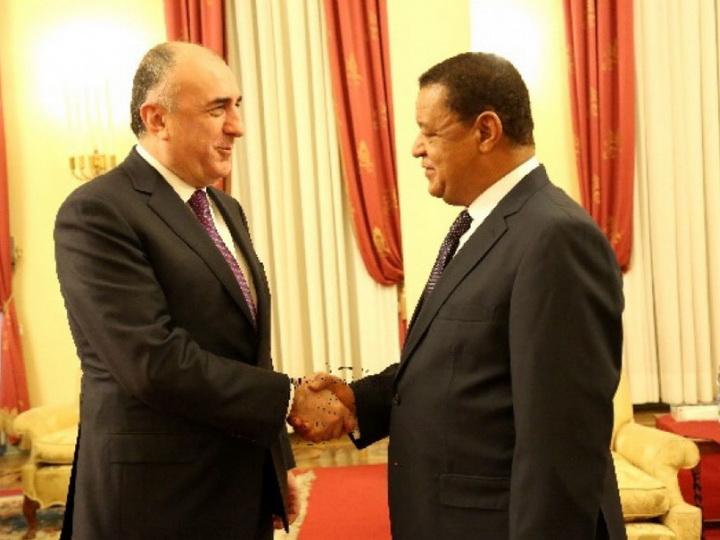 Министр иностранных дел Азербайджана встретился с Президентом Эфиопии