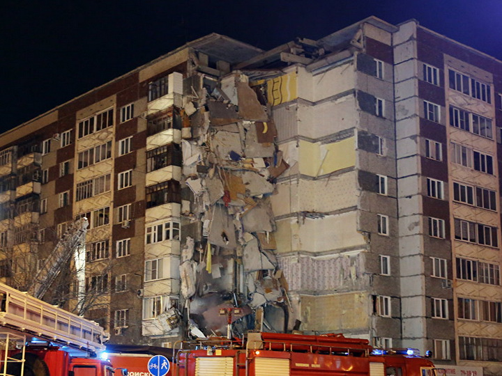 Число погибших при обрушении жилого дома в Ижевске увеличилось до 7 человек – ФОТО – ВИДЕО – ОБНОВЛЕНО
