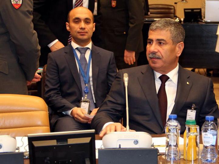 Закир Гасанов: Баку-Тбилиси-Карс создает большие возможности для обеспечения нужд миссии «Решительная поддержка» - ФОТО