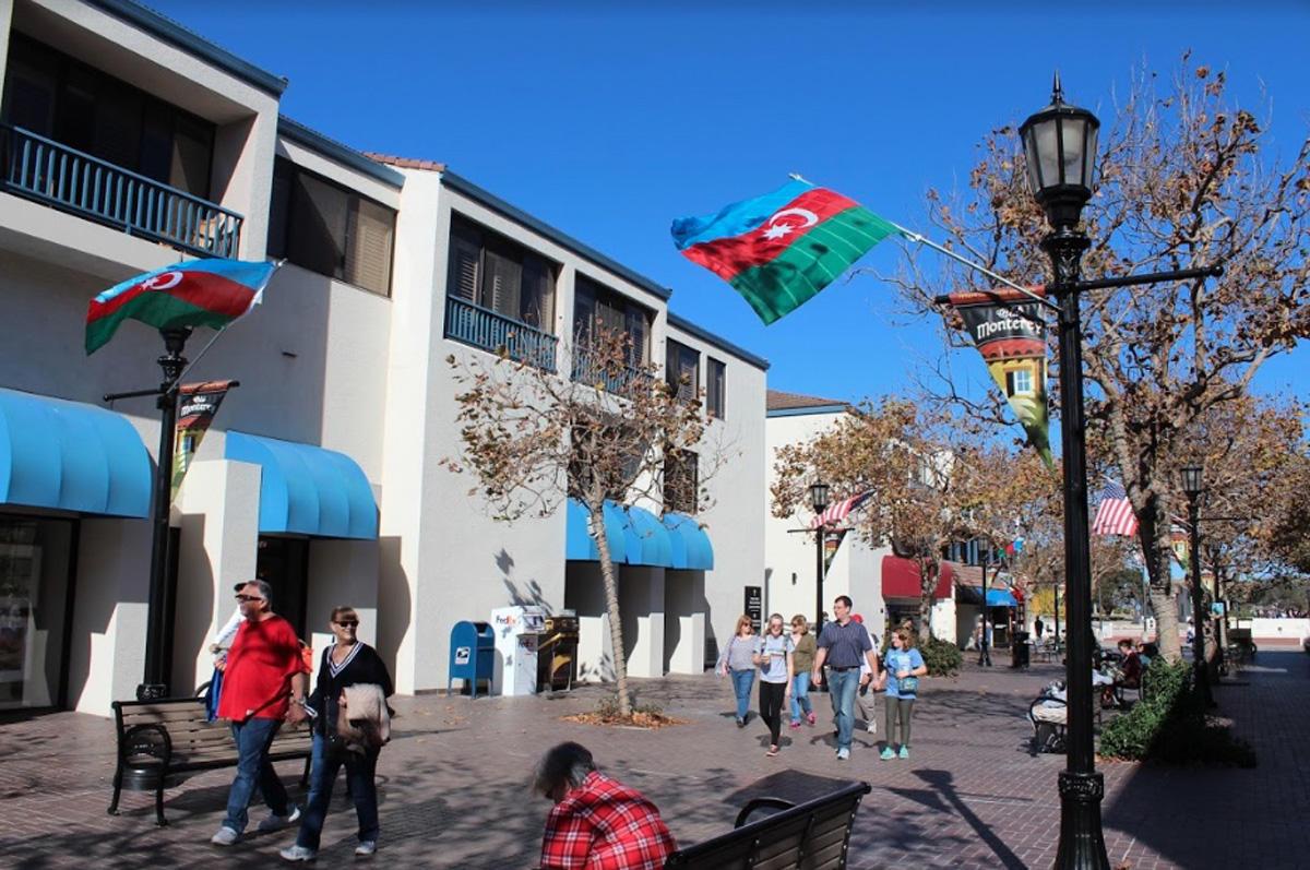 ABŞ-ın Monterey şəhər meri Azərbaycan Dövlət Bayrağı Günü ilə bağlı bəyannamə imzalayıb - FOTO