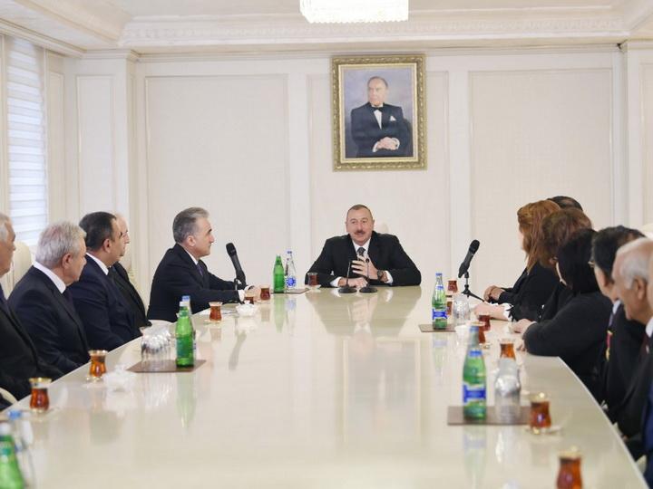 Ильхам Алиев: «На примере Гянджи мы видим общее развитие нашей страны»  - ФОТО