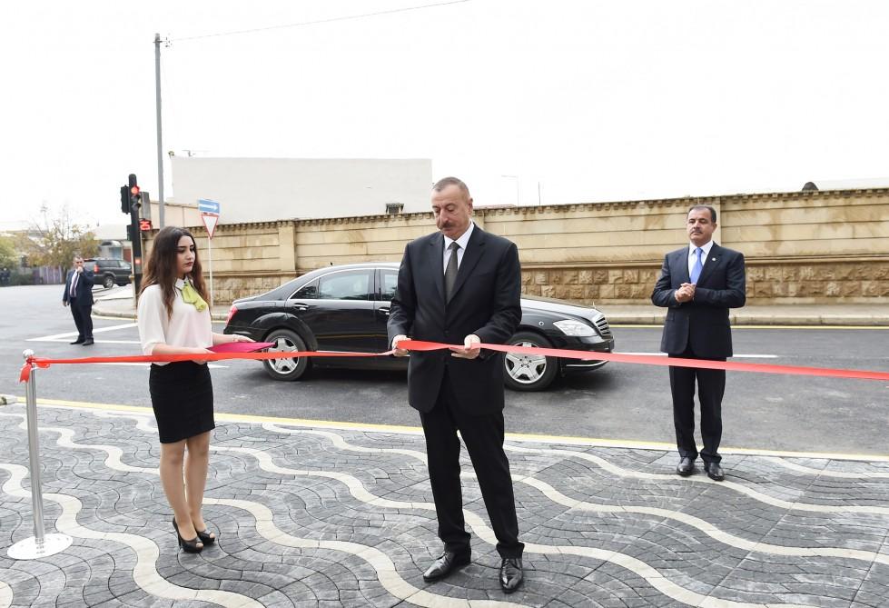 Gəncədə Əziz Əliyev adına mədəniyyət və istirahət parkının açılışı olub - FOTO