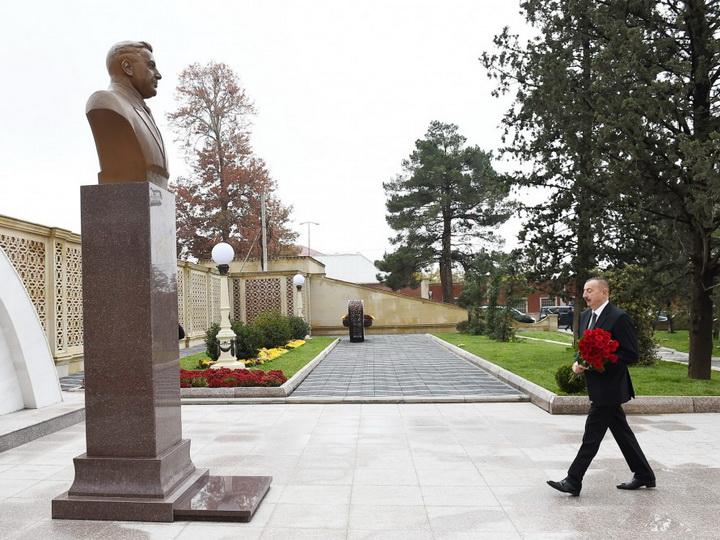 Ильхам Алиев открыл в Гяндже парк культуры и отдыха имени Азиза Алиева - ФОТО
