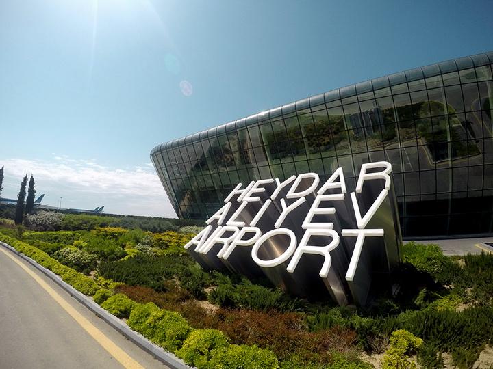 Пассажиропоток Международного аэропорта Гейдар Алиев вырос более чем на 20%