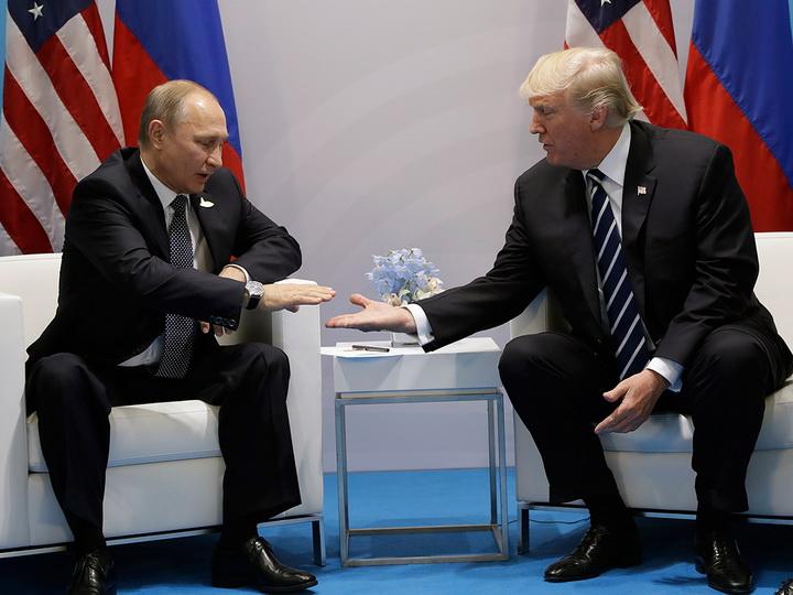 Путин встретился с Трампом во Вьетнаме во время фотосессии