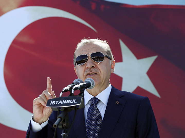 Эрдоган раскритиковал европейские страны за запрет хиджаба