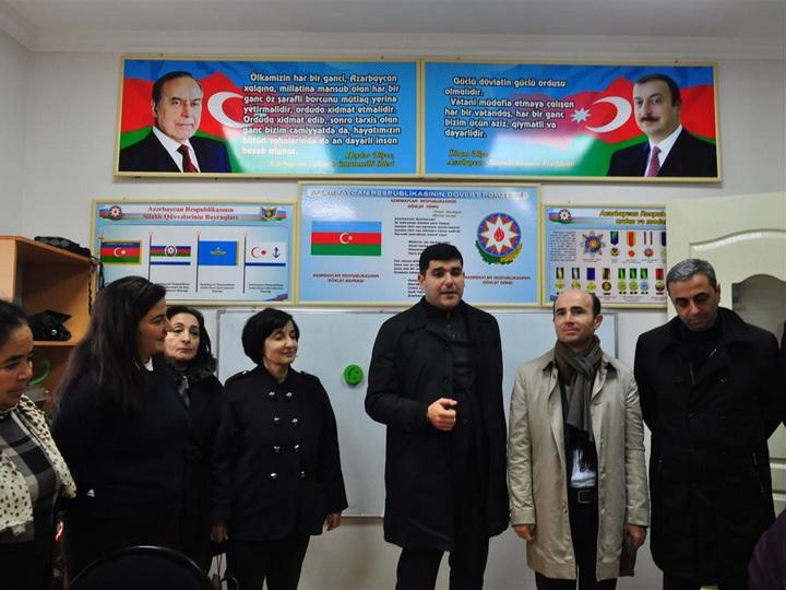 Сотрудники ЦСИ в День Флага посетили село Джоджуг Мерджанлы - ФОТО