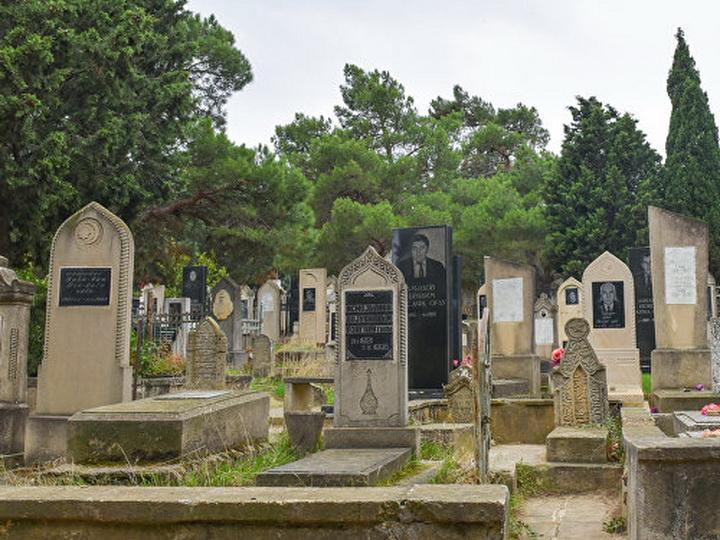 Могилы в Нахчыване будут выглядеть так - ФОТО