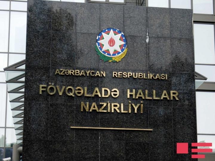 МЧС: Во время пожара в жилом здании в Баку были спасены 15 жильцов, эвакуированы 20 человек