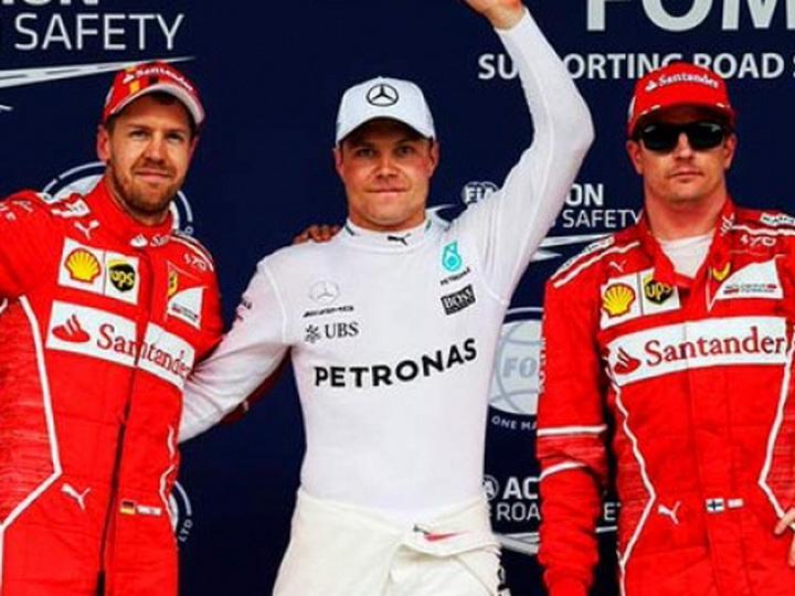 Гран-при Бразилии Формулы-1: Хэмилтон разбил свой болид, Боттас завоевал поул - ФОТО