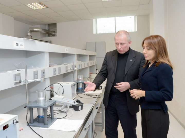 В Бакинском филиале МГУ имени М.В. Ломоносова создана новая лаборатория «Атомная и ядерная физика» - ФОТО