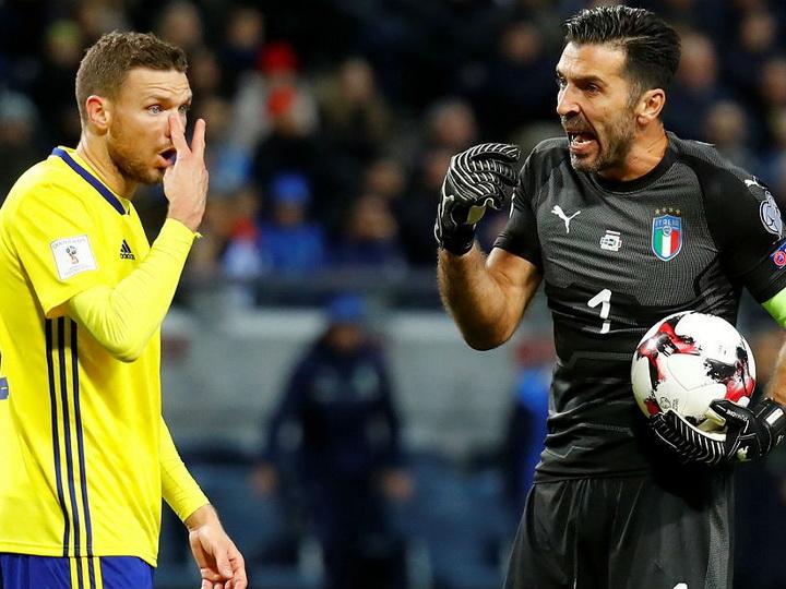 Италия уступила Швеции в первом стыковом матче ЧМ-2018 – ВИДЕО
