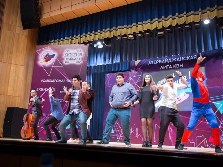 В Баку состоялся полуфинал Азербайджанской Лиги КВН – ФОТО