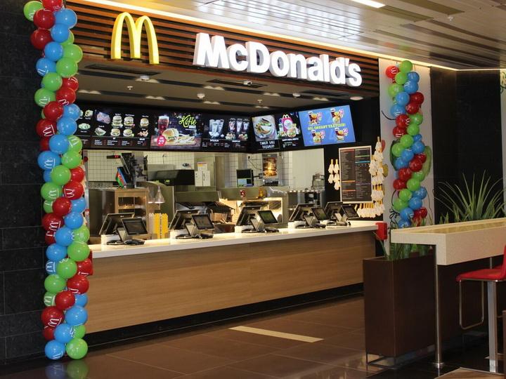 Новый ресторан McDonald's теперь в Гяндже! - ФОТО