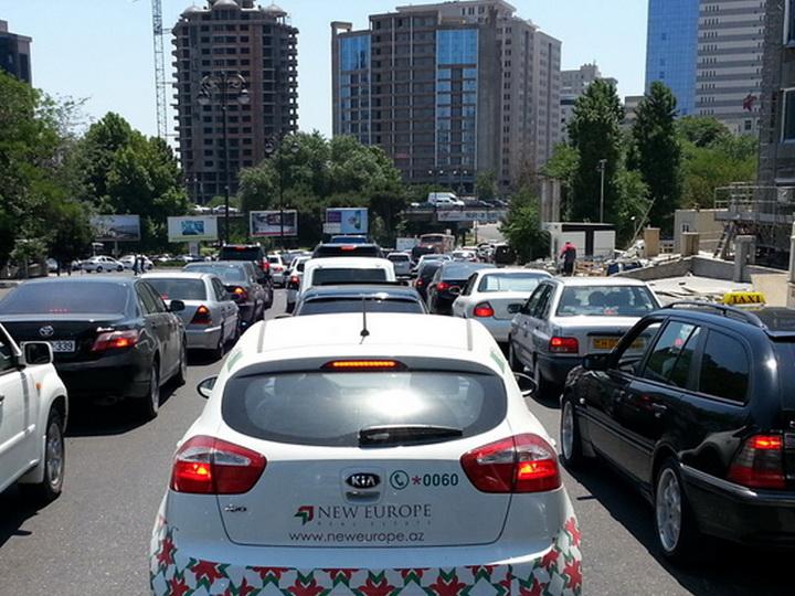 Предложено решение проблемы пробок на двух проспектах Баку – ФОТО – ВИДЕО