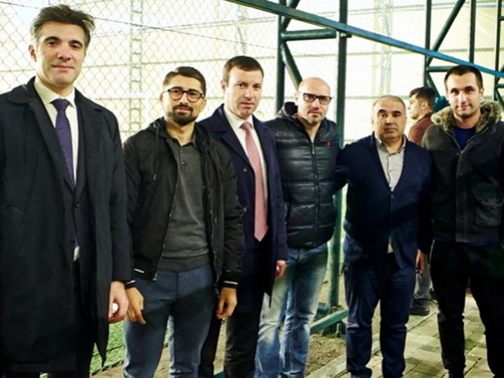 Эльхан Мамедов и Жозе Алесио посетили матчи MFL - ФОТО