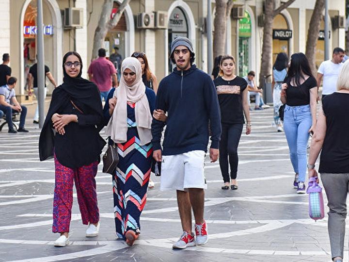 Число туристов, посетивших Азербайджан, выросло на 20,1%