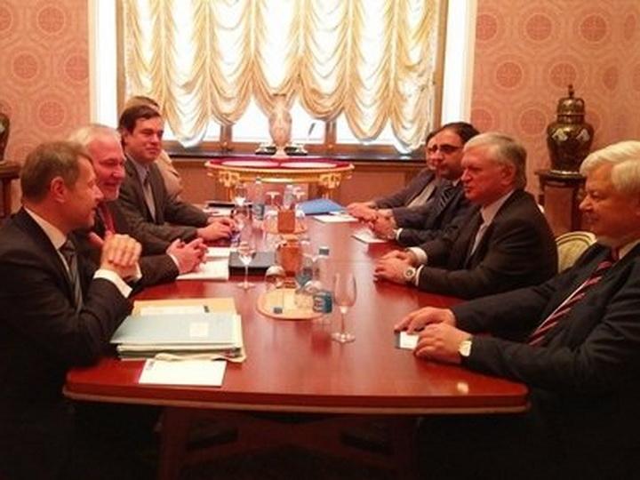 Эдвард Налбандян в Москве провел переговоры с сопредседателями Минской группы ОБСЕ
