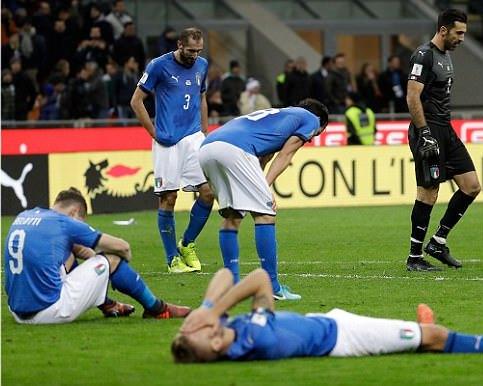 DÇ-2018:İtaliya mundialdan kənarda qaldı! - VİDEO