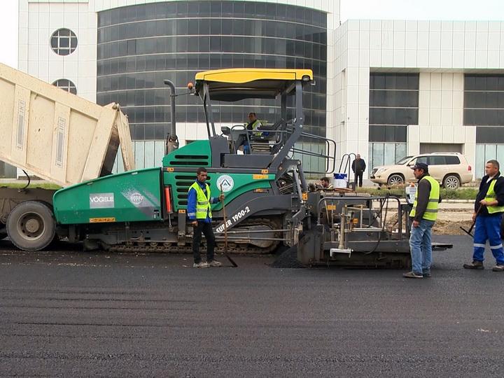 В конце ноября откроют для движения реконструированную часть Бинагадинского шоссе – ФОТО