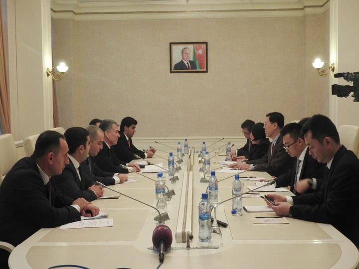 Развивается сотрудничество между Китаем и Азербайджаном