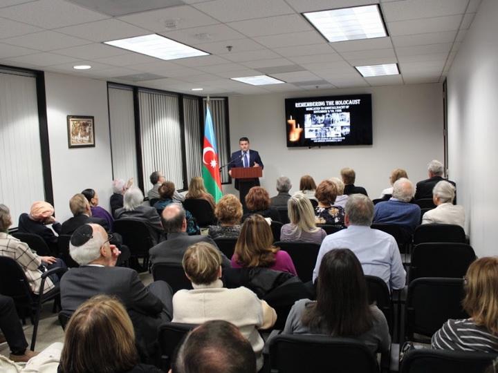 Память жертв Холокоста и Ходжалинского геноцида почтена в Лос-Анджелесе - ФОТО