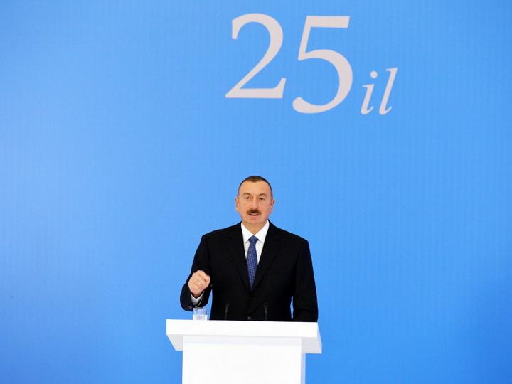 Президент Ильхам Алиев: «Cегодня Азербайджан является страной, пользующейся огромным авторитетом на международной арене» - ФОТО