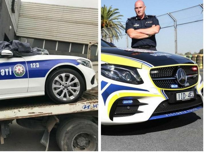 Азербайджан стал второй страной в мире, использующей Mercedes AMG в качестве автомобилей Дорожной полиции – ФОТО – ОБНОВЛЕНО